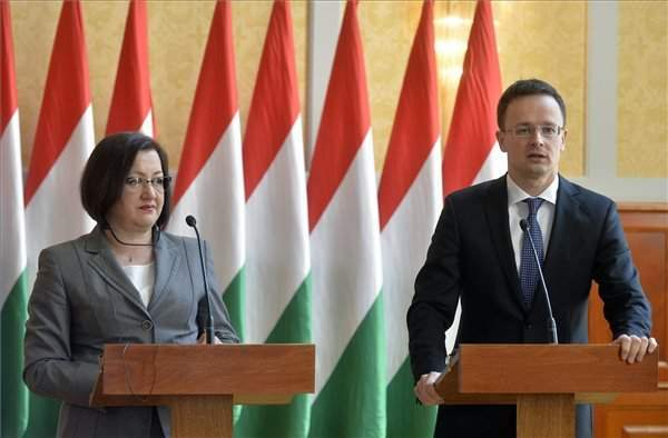 A meeting of the Hungarian-Serbian mixed economic committee in Budapest