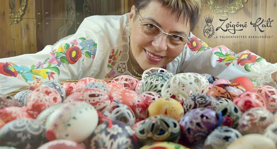Kati Zsigóné's new masterpiece: The unique egg of Hungary