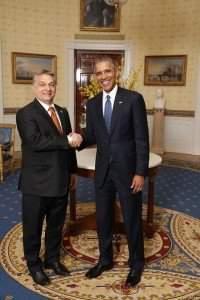 US President Barack Obama and Hungarian PM Viktor Orbán