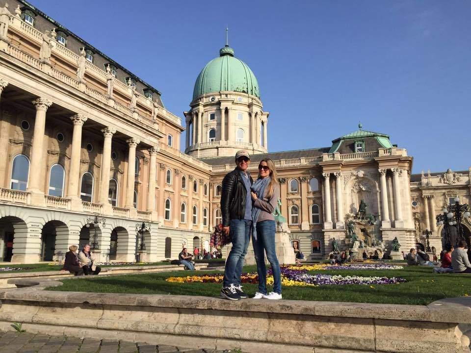 Antonio Banderas is in Budapest