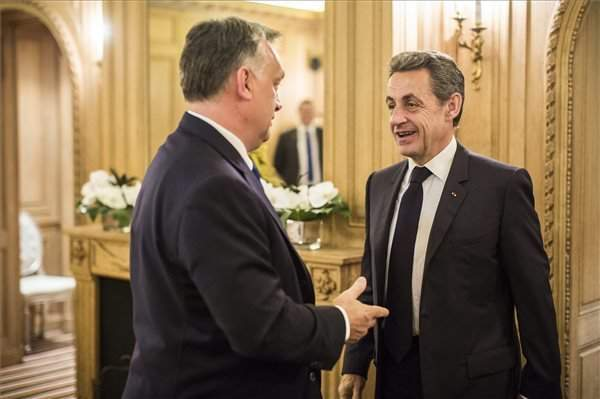 Orbán discusses European issues with Sarkozy in Paris – PHOTOS
