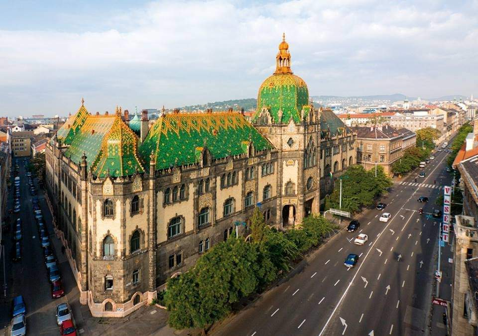 Budapest among the Top 10 European cities for art nouveau