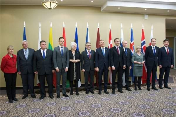 Foreign minister discusses migration with V4, Baltic, northern European counterparts
