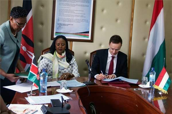 Hungary, Kenya agree to boost ties