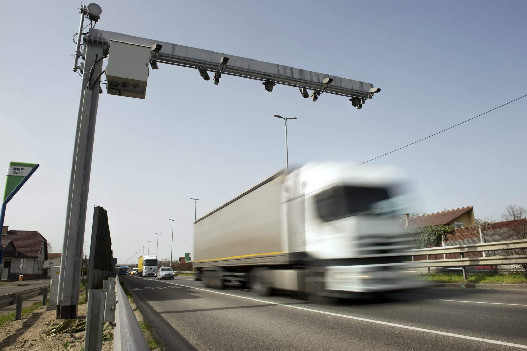 Super speedcams on the road