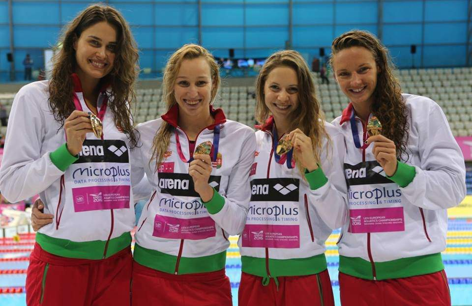 The Hungarian swimmers keep winning medals in London