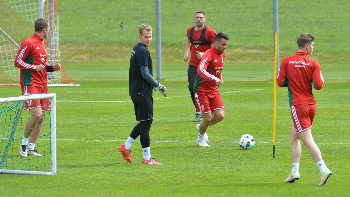 National football team enjoying intensive training in Austria