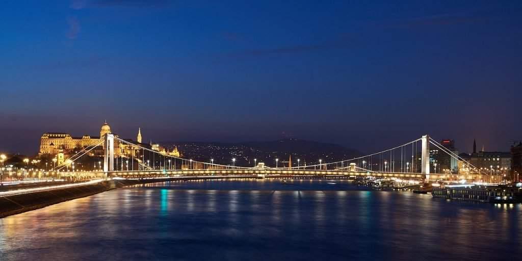 Elizabeth Bridge Budapest Hungary