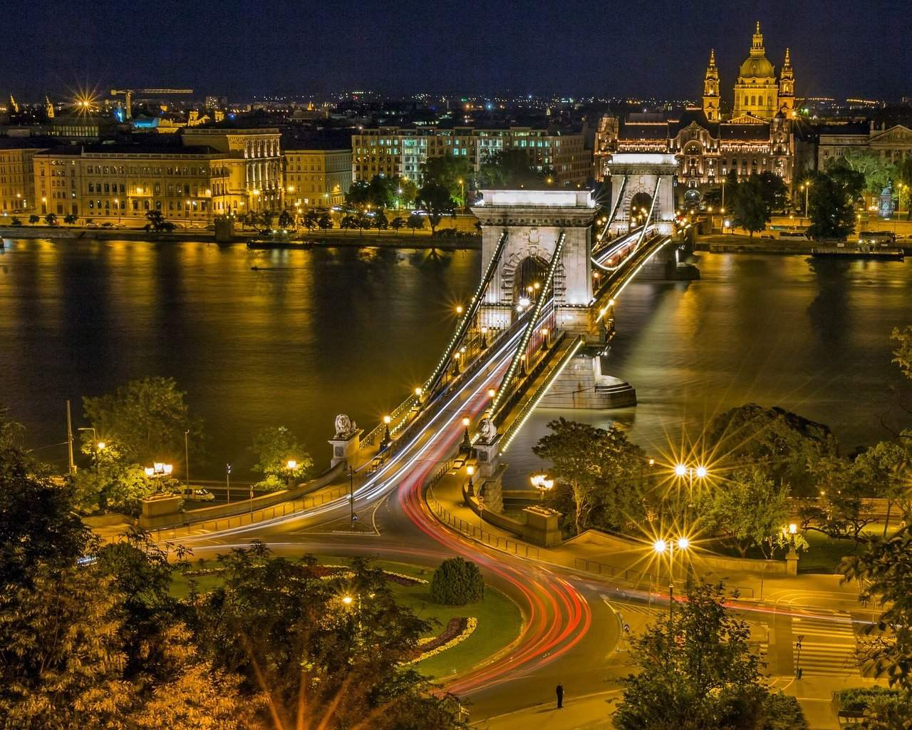 The beautiful bridges of Budapest