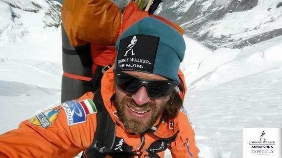 Dávid Klein made it to the peak of Annapurna