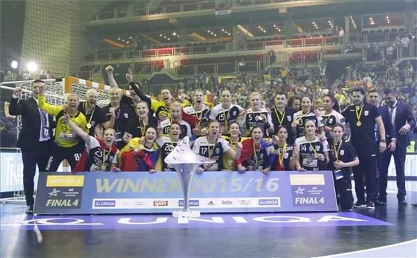 CSM Bucuresti won the Women's EHF FINAL4 by beating Győr