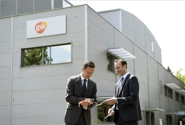 GlaxoSmithKline inaugurates new vaccine manufacturing unit near Budapest