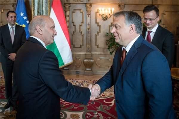 Kosovo Prime Minister Isa Mustafa visits Hungary