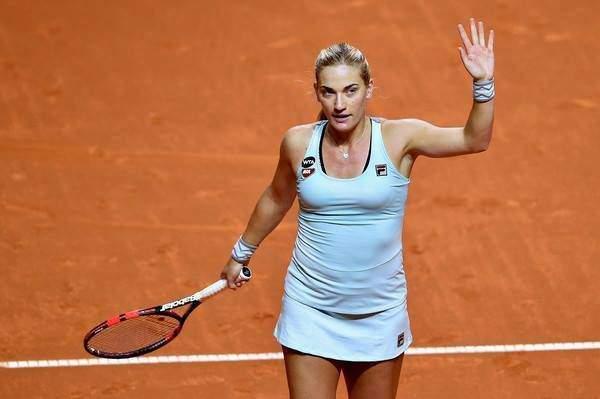 Great success: Tímea Babos beat Venus Williams in Rome!