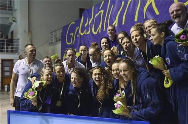 UVSE retain Hungary's Women Water Polo League title