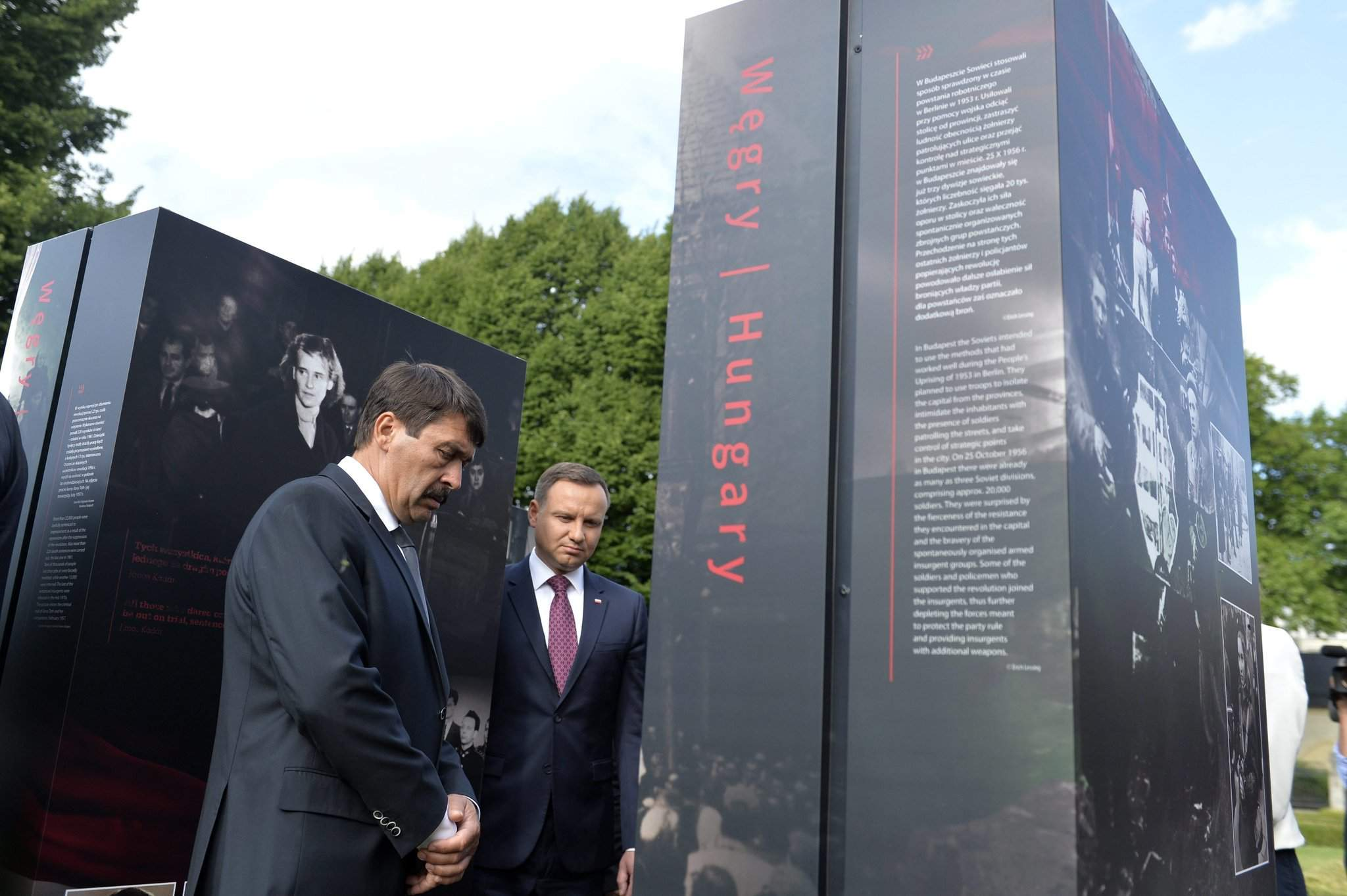 Hungary, Poland presidents commemorate 1956 Poznan uprising – Photos – UPDATE