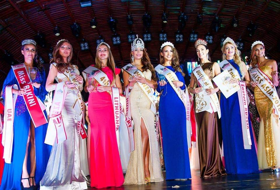 17-year-old Hungarian beauty crowned as Miss Eurasia 2016