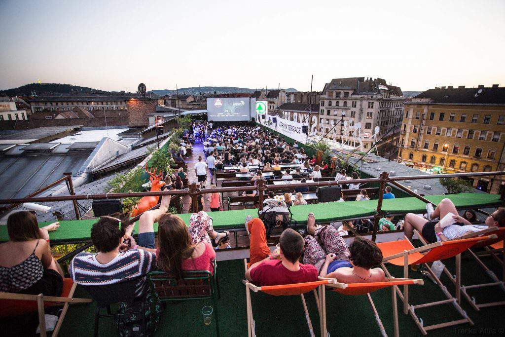 Budapest Rooftop Cinema Cult Films On Top Of The City
