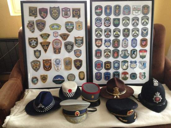 the largest law enforcement private collection of the world is in Hungary