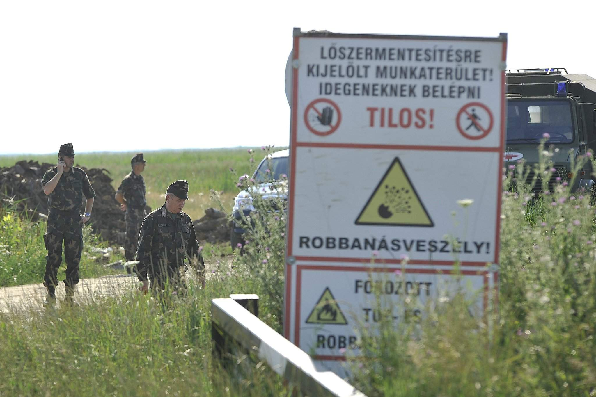 Hungarian defence minister: No human error in July post-WWII bomb explosion