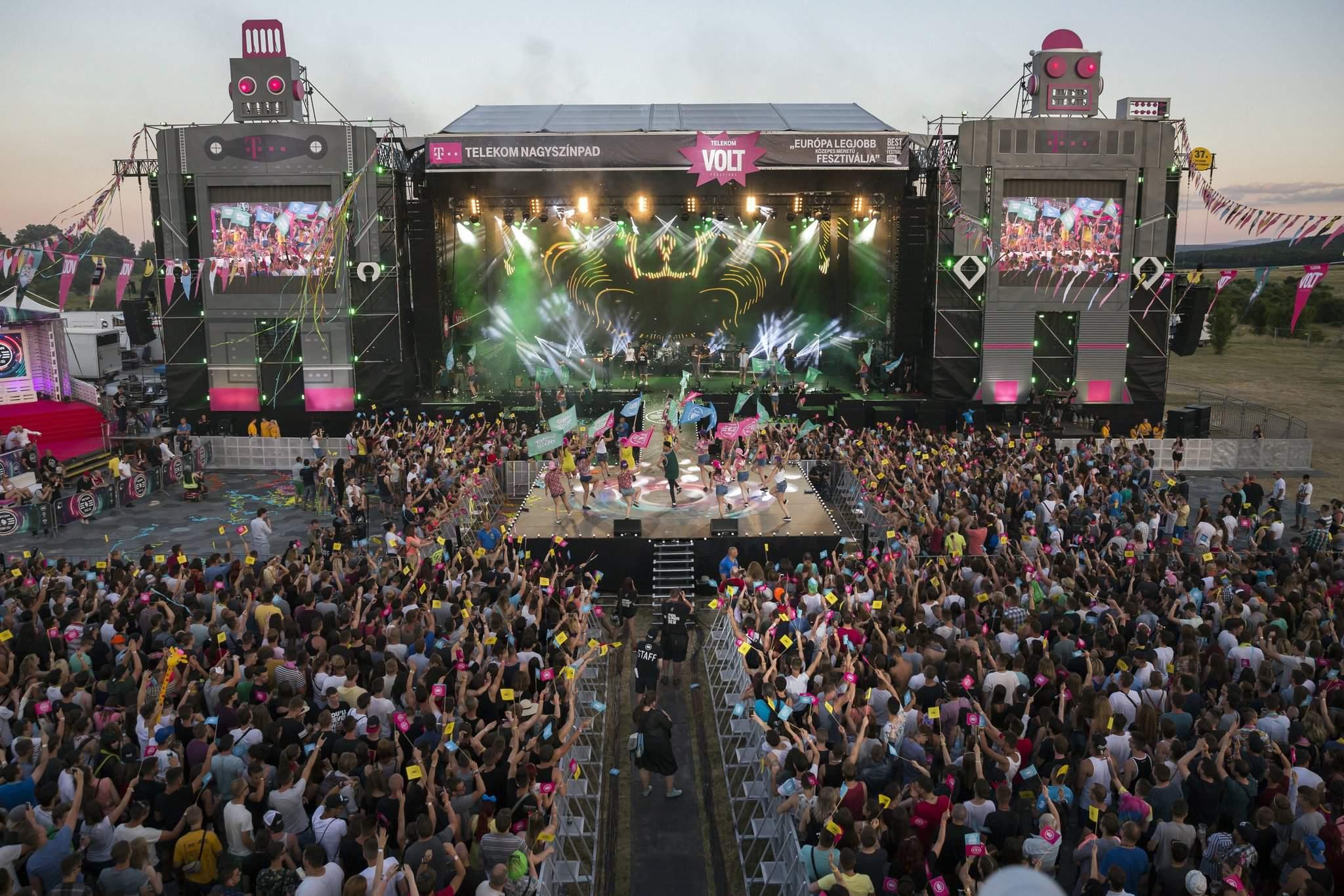 Ellie Goulding, Linkin Park, Martin Garrix and more @ Telekom VOLT Festival 2017