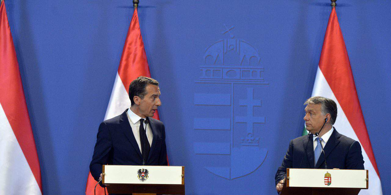 Austrian Chancellor hold talks in Budapest – UPDATE