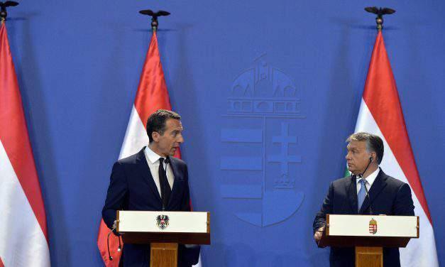 Austrian Chancellor hold talks in Budapest – UPDATE