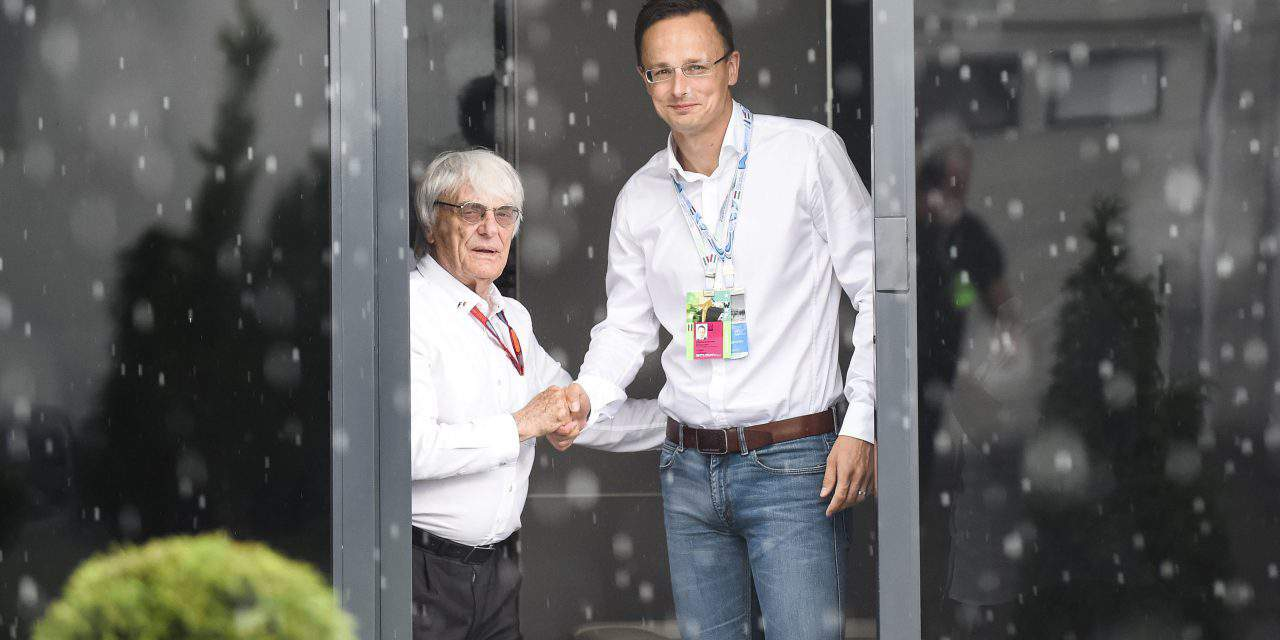 Hungary's foreign minister: Formula 1 national economic interest