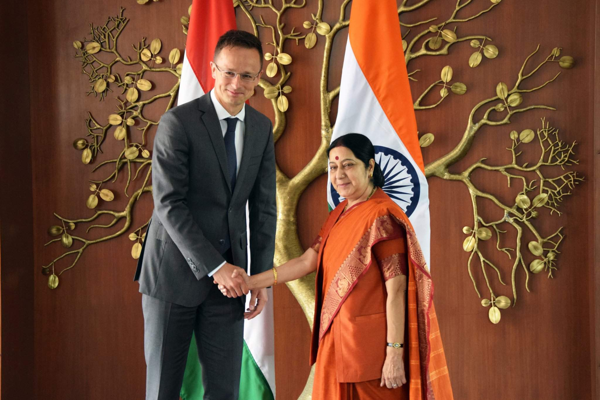 Foreign minister in India – India's Sona to build HUF 4.2 bn plant in Hungary