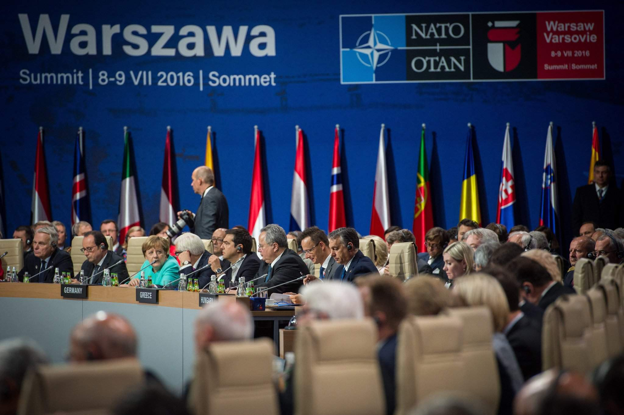Szijjarto at NATO summit: Hungary 'doing well' in defence spending