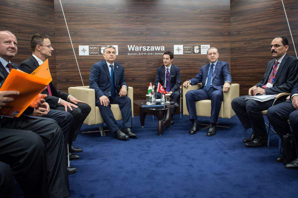 Szijjártó Péter; Orbán Viktor; ERDOGAN, Recep Tayyip; Simicskó István
