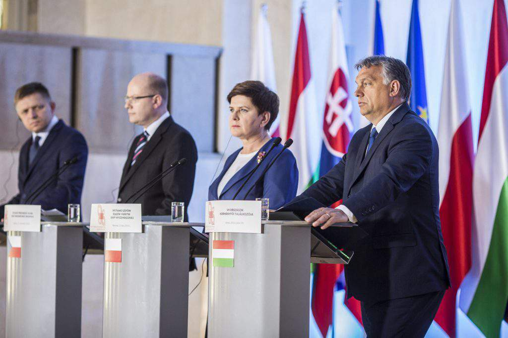Visegrad Four summit in Warsaw