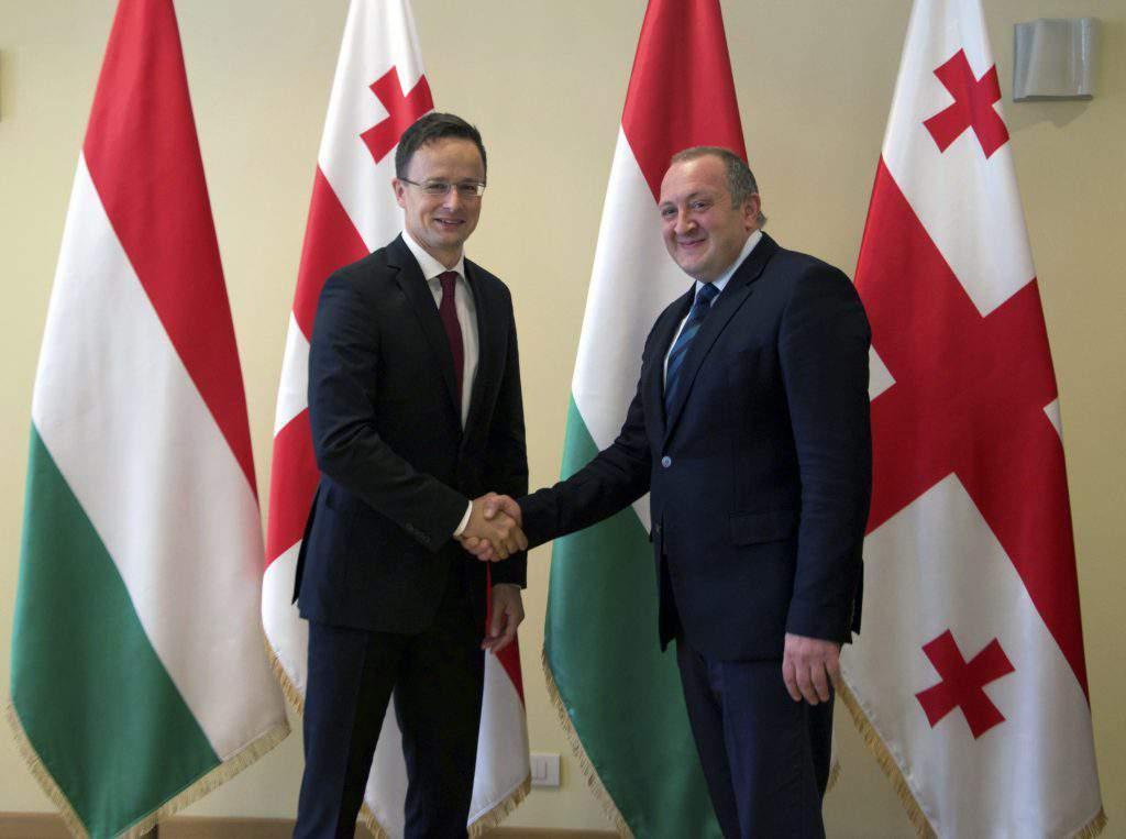 Margvelasvili, Giorgi; Szijjártó Péter