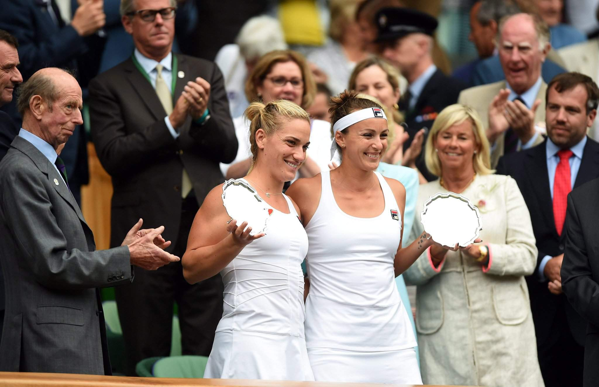 Timea Babos strikes again at Wimbledon
