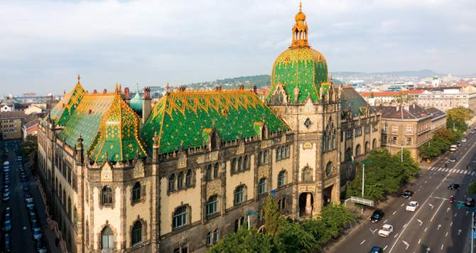 The 10 best known representatives of Art Nouveau style in Budapest