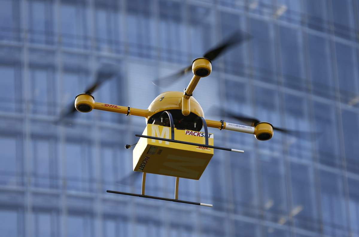 Here comes the first drone delivery system in Hungary