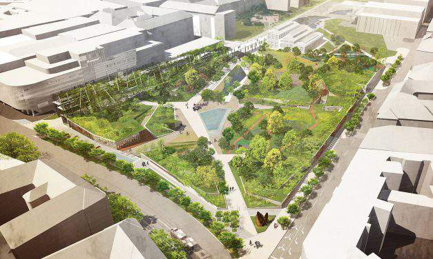 Budapest City Center getting a new park