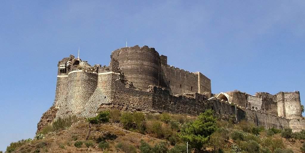margat castle syria