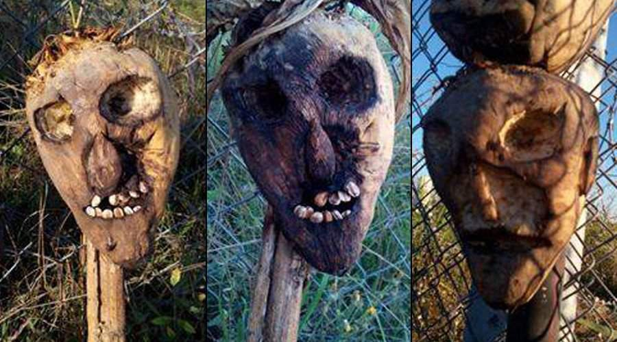 Scarecrows keep immigrants away from Hungarian border? – PHOTOS