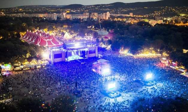 Sziget festival sets record at nearly 500,000 visitors
