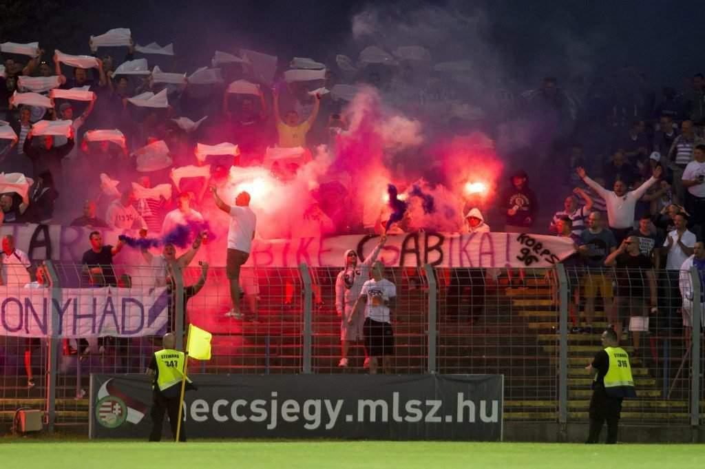 Budapest, Újpest fans
