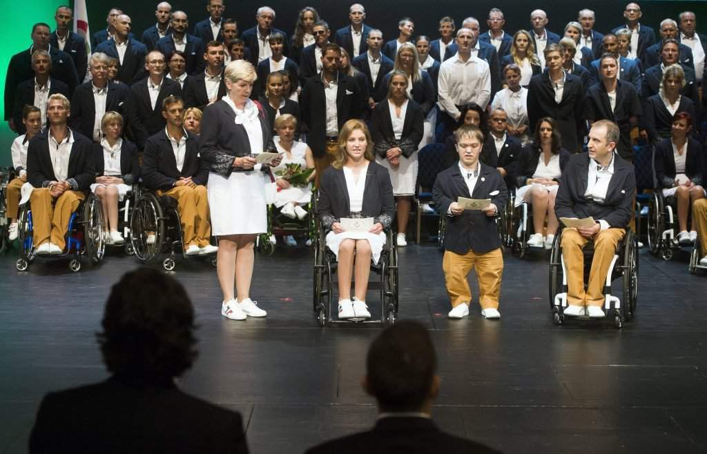 Hungary's Paralympics team takes oath for Rio