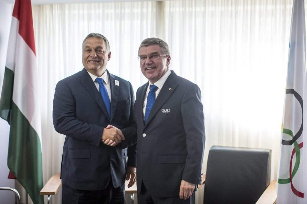 Orbán Viktor; BACH, Thomas