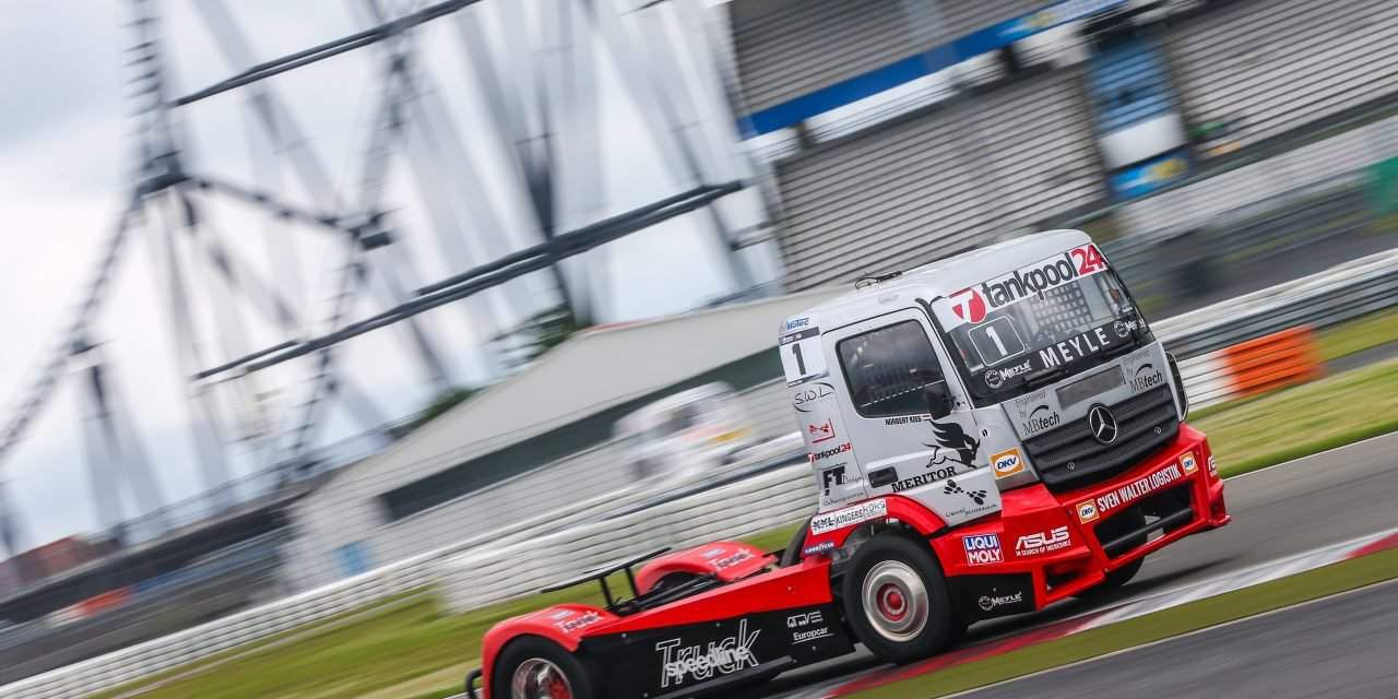 FIA European Truck Racing Championship: Speedline Truck Team and the local hero Norbert Kiss