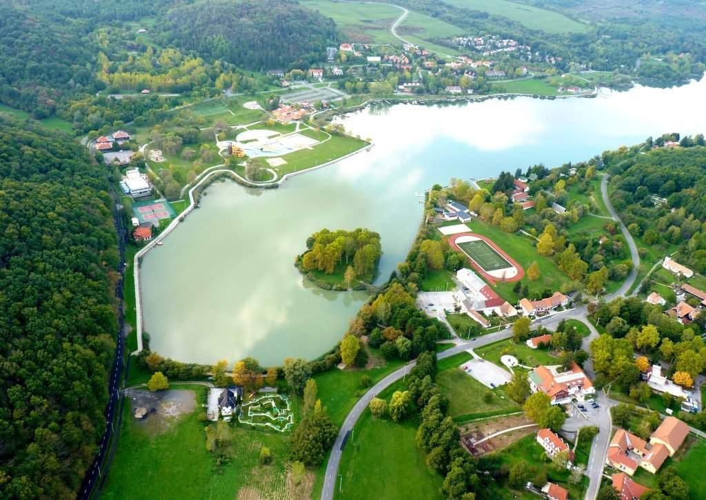 orfű-lake
