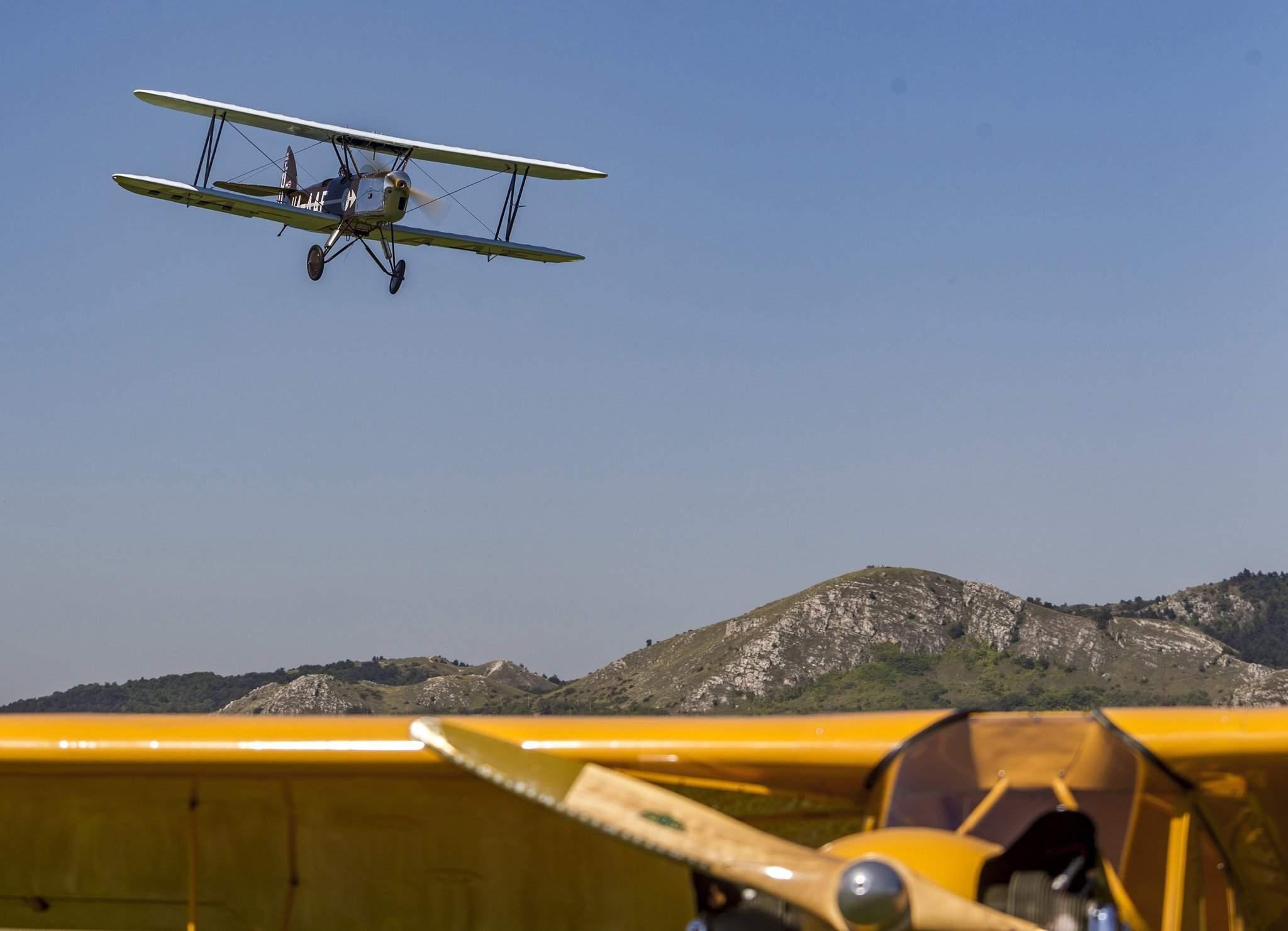 Felújította a Goldtimer Alapítvány a Gerle 12-es repülõgé