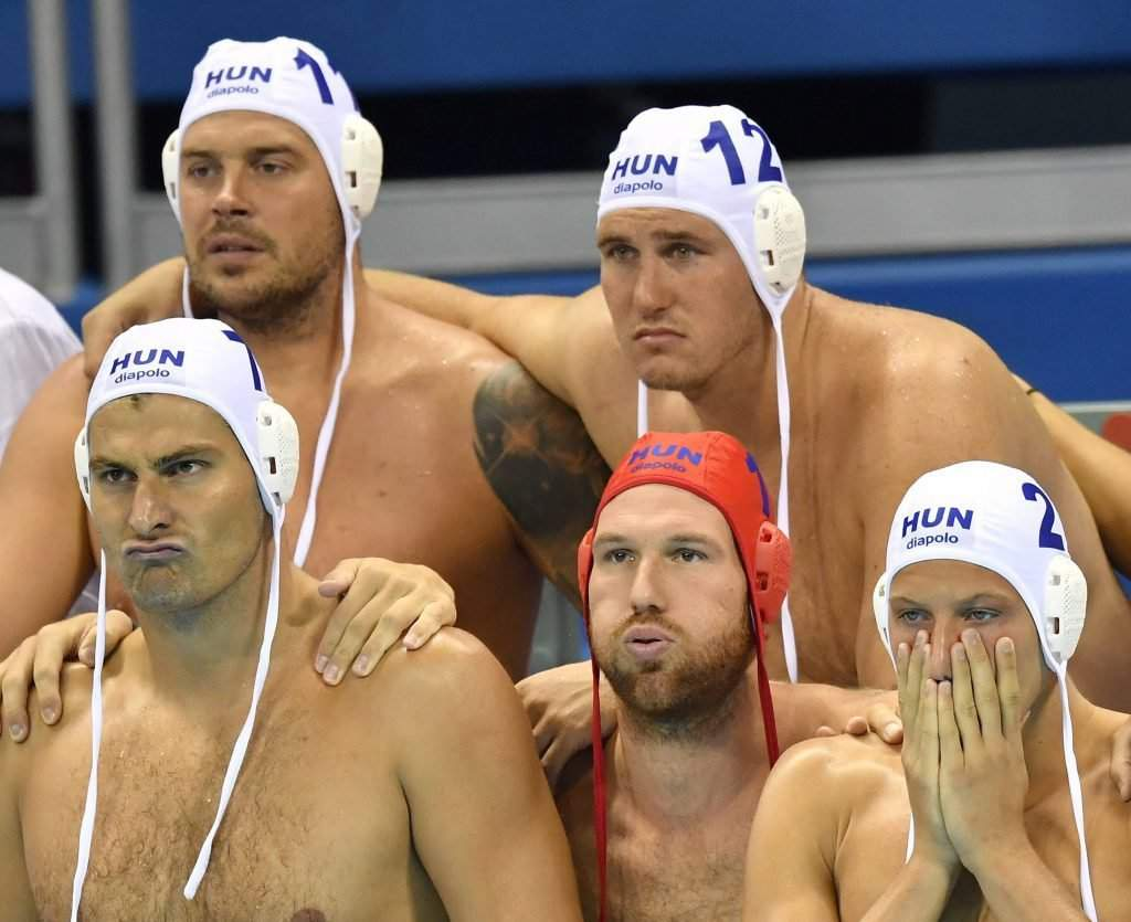 Gábor Kis, Balázs Hárai, Ádám Decker, Viktor Nagy and Gergő Zalánki