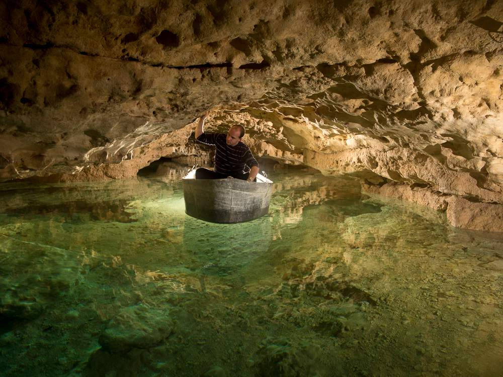 tapolca lake cave