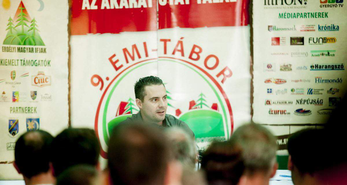 Vona: If Jobbik wins power, Hungary will be a more democratic and free country