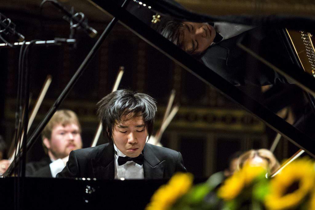 A 14. Liszt Ferenc Nemzetközi Zongoraverseny díjkiosztója